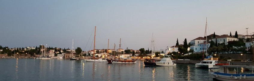 Spetses - view from Orloff tavern (Small