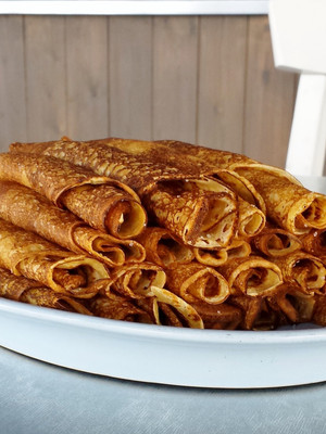 Mom's Traditional Dessert Crepes!