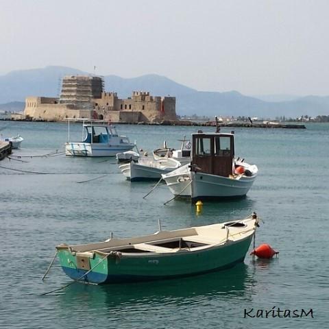 Venetian Bourtzi Fortress