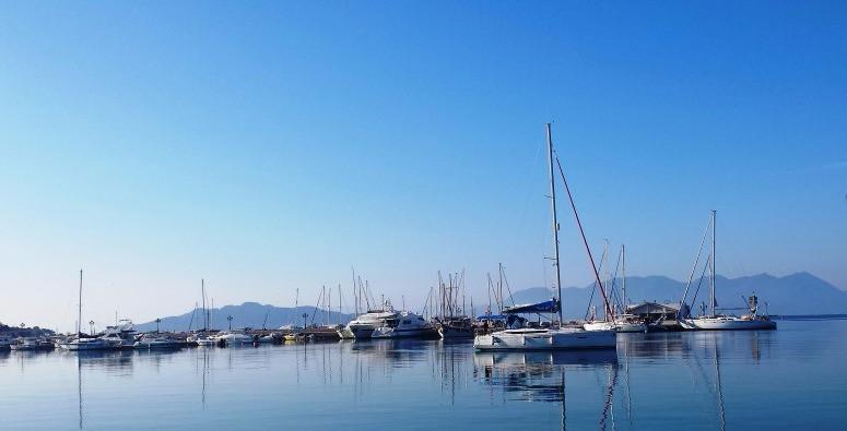 Aegina Island's harbor