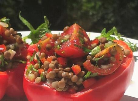 Healthy & Easy2Make Lentil Salad!