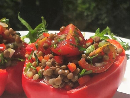 Healthy & Easy2Make Lentil Salad!