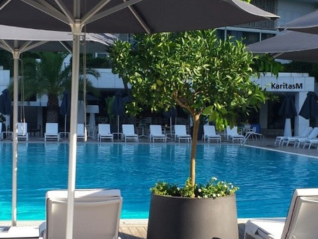 Unwind, Swim & Indulge @ the Athens Hilton Outdoor Pool!