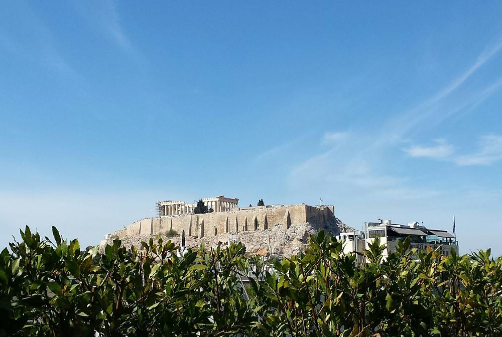 View to Acropolis - Athens, Greece
