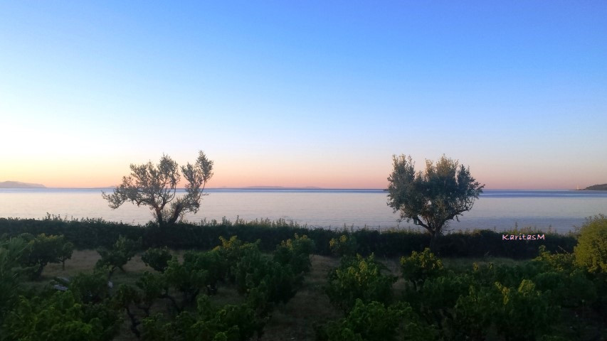 Beautiful sun rise - early morning colors!
