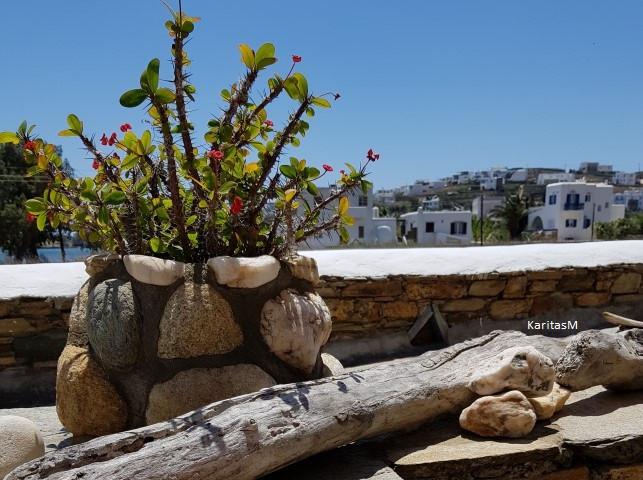 Tinos Island - whitewashed houses - Skalantari