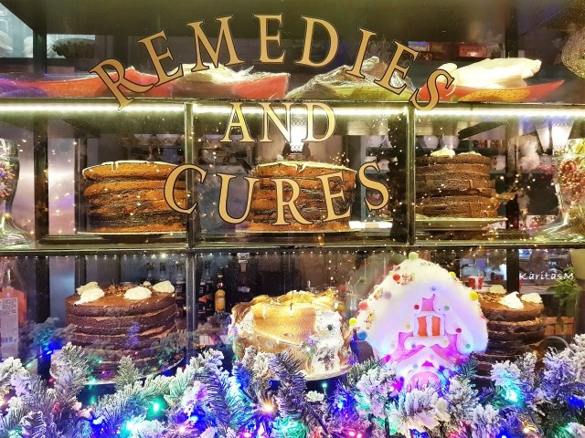 View to Cake Stand - Remedies & Cures!