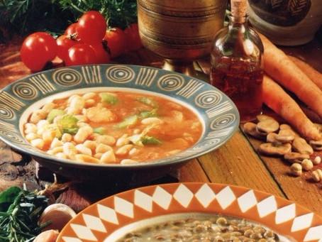 Greek Bean & Lentil Soups