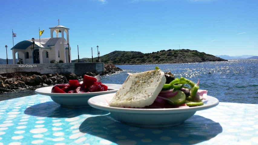 Greek Village Salad + Red Beet Salad