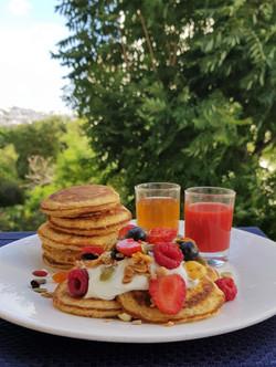 Granny's Porridge Pancakes