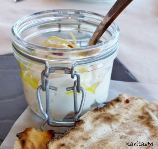 Taramosalata with Lemon Rind