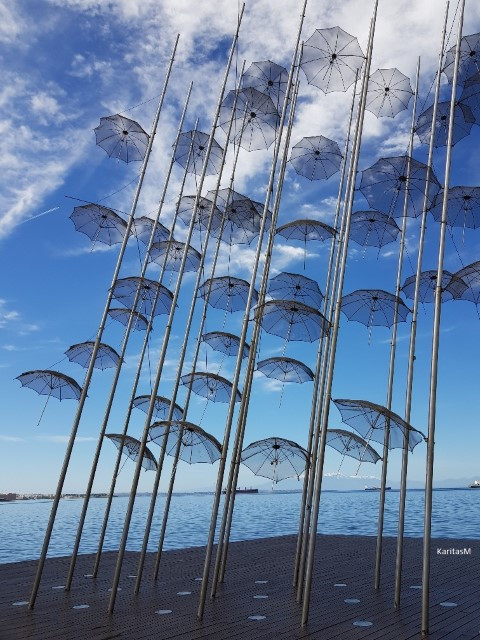 Umbrellas  - Sculpture