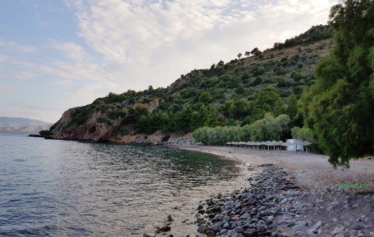 Secluded Limniona Beach