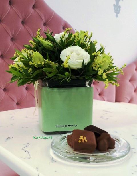 Chocolates made with stevia