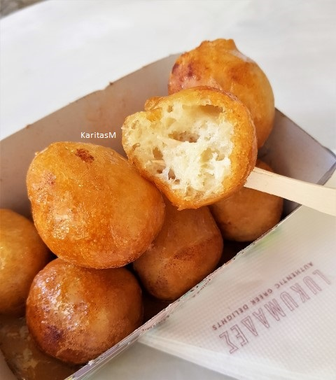 Fried Honey Puff