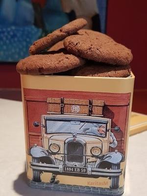 Addictive Chocolate Orange Flavored Cookies!