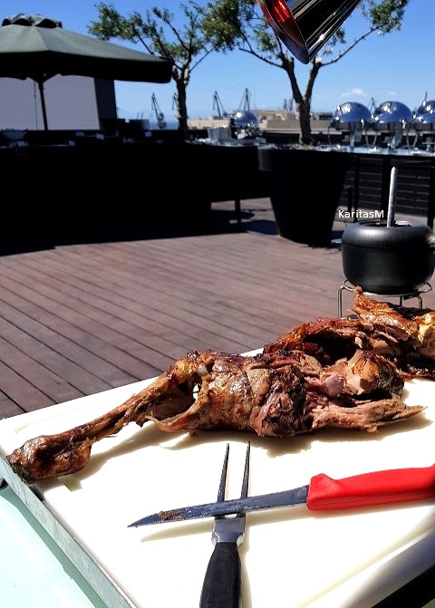Delicious Lamb ready to be served!