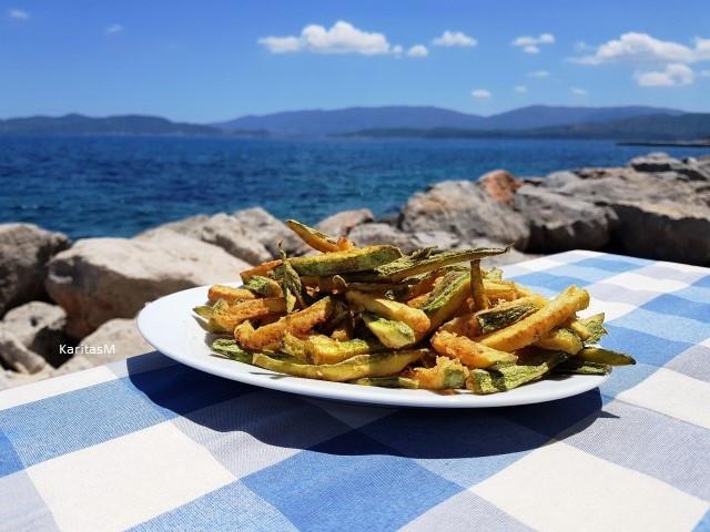 Zucchini sticks - Yummy!