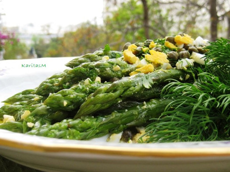 Easy2Make Asparagus Egg Salad!