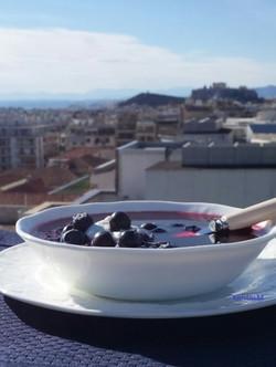 Icelandic Blueberry Soup