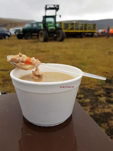 Icelandic Kjötsúpa (Meat and Veggie Soup)