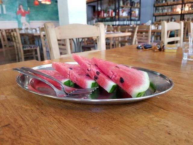 Fresh Watermelon for Dessert