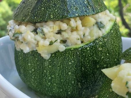 Stuffed Round Zucchini!