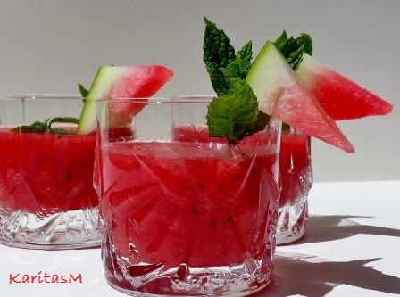 Savory Watermelon Gazpacho
