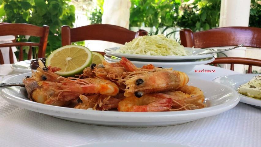 Stunning fried giant Shrimp