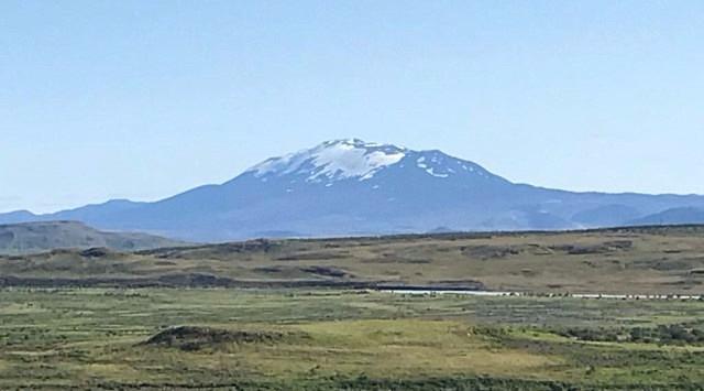 The mighty Icelandic volcano - Hekla