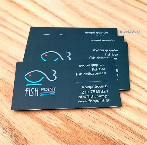 Fish Point business card