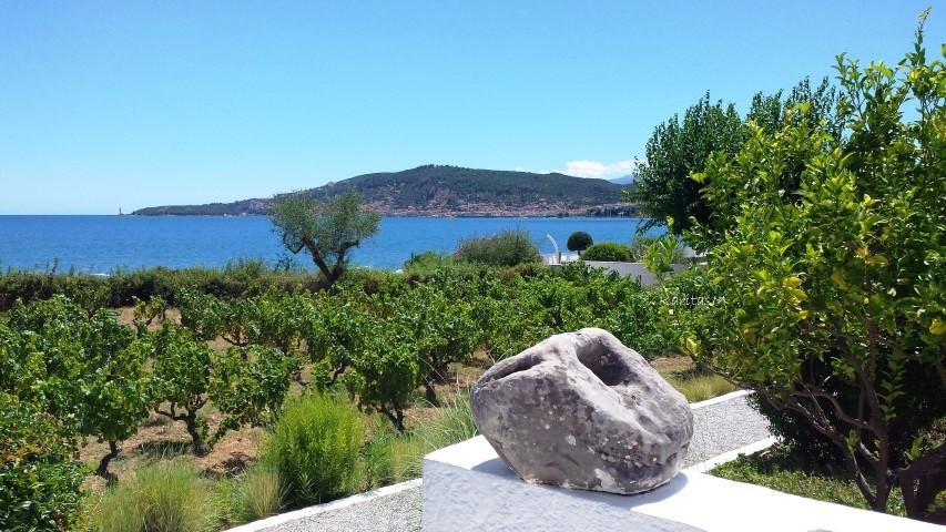 View to beach, Gythio & Laconian Gulf