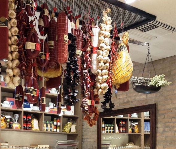 Cured Meats in Yolenis Grocery Store