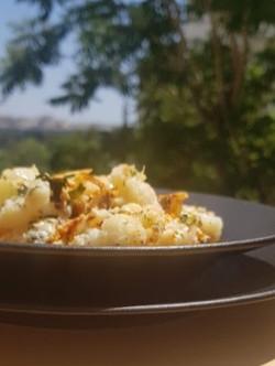 Tasty & Healthy Roasted Cauliflower!