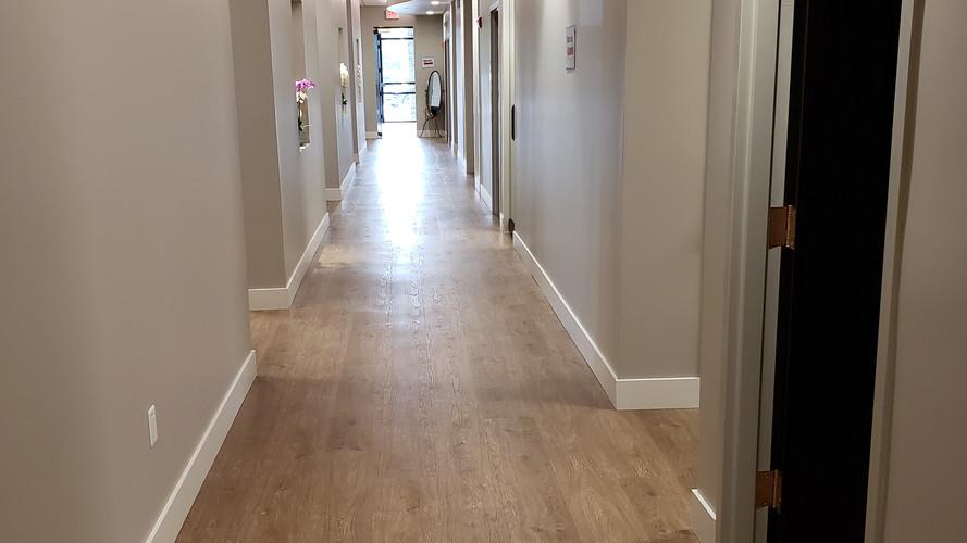 Orchid Dermatology Office Hallway