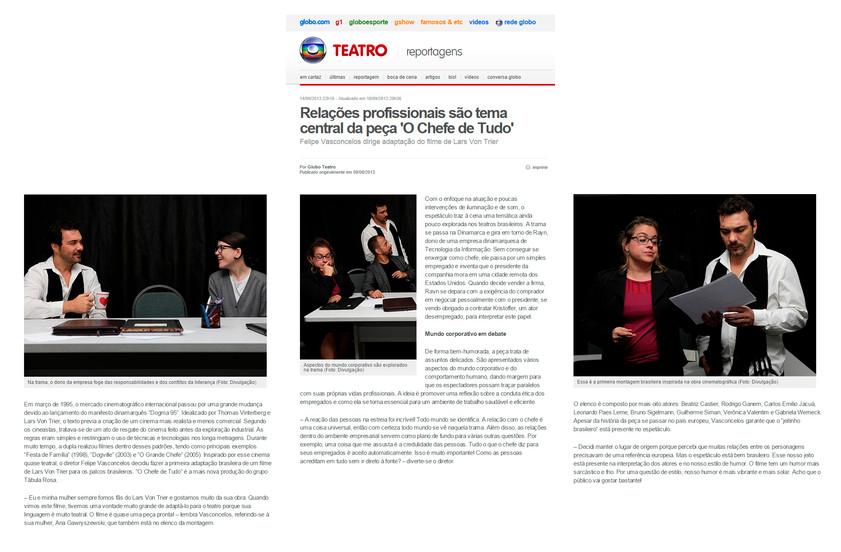 GLOBO.COM | Globo Teatro