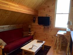 Loft with full futon