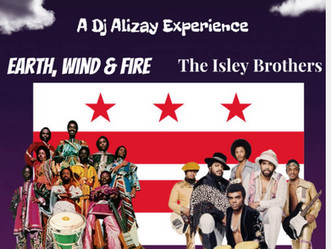 "DJ ALIZAY drops ""Earth, Wind and Fire and the Isley Brothers LIVE at the Go-Go!"""