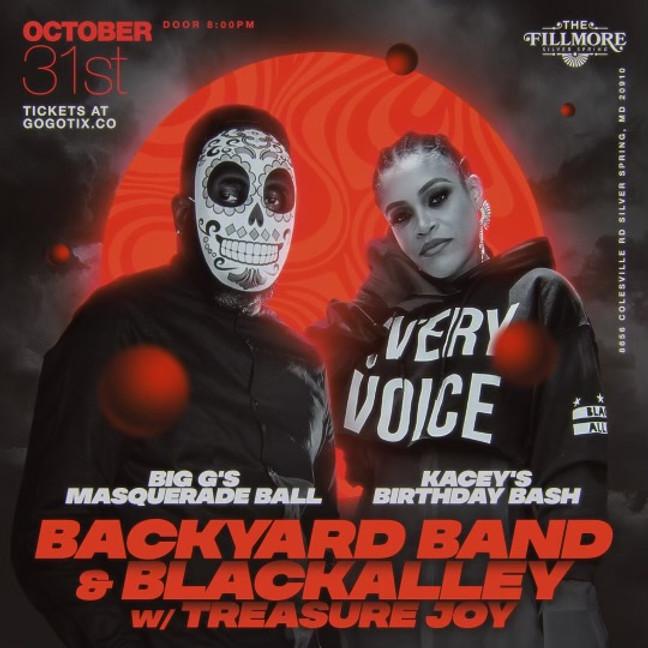 BIG G'S MASQUERADE BALL & KACEY'S BIRTHDAY BASH W/ BACKYARD AND BLACK ALLEY
