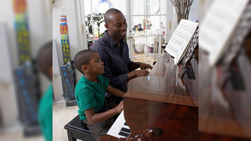 Father and Son Piano Summer Camp Music a