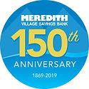 Meredith Village Savings Bank 150 Year A