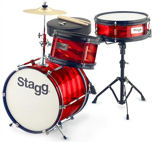"""Stagg Junior 3 Piece Drum Kit - 12"""" Bass Drum"""
