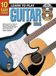 10 Easy Lessons Guitar Book