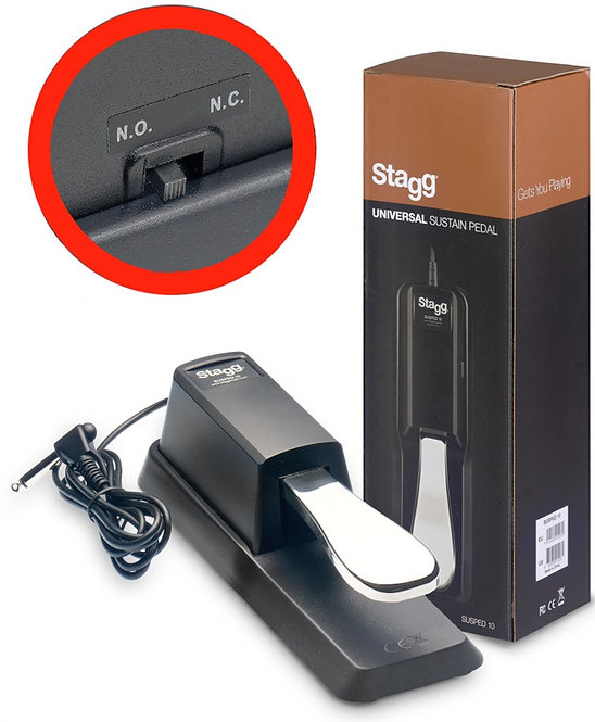 Stagg Sustain Pedal SUS10