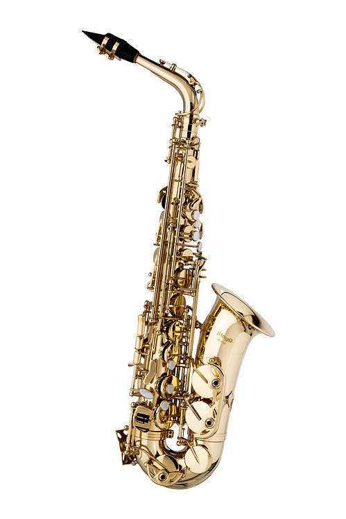 Stagg WS-AS215S Alto Saxophone Eb Outfit