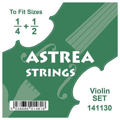 Astrea Violin String Set - 1/4 +1/2