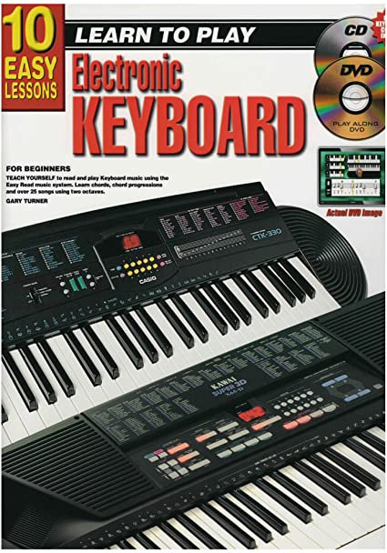 10 Easy Lessons Keyboard Book