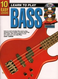 10 Easy Lessons Bass Book