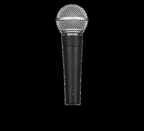 Shure SM58 Industry Standard Microphone, Inc. XLR-XLR Lead