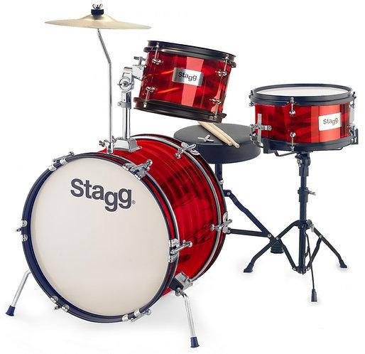 """Stagg Junior 3 Piece Drum Kit - 16"""" Bass Drum"""